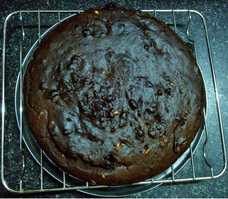 Gluten free Eggless Multi millet Chocolate cake